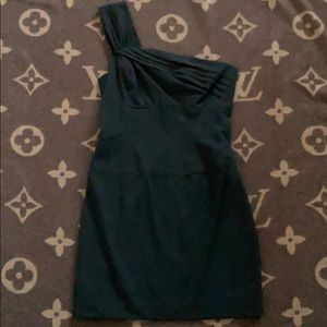 Fitted one shoulder dress